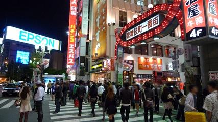 歌舞伎町の入口