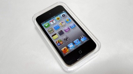 iPod touchです