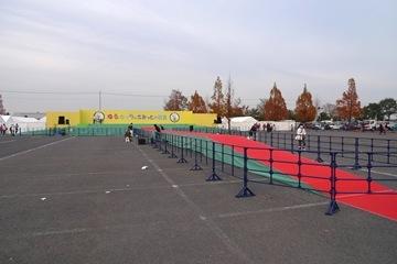 イベント終了後のステージ