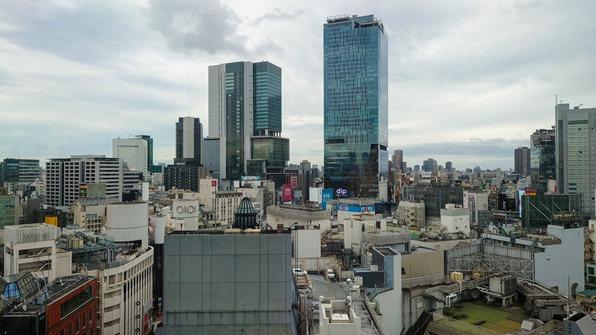 渋谷PARCO屋上から